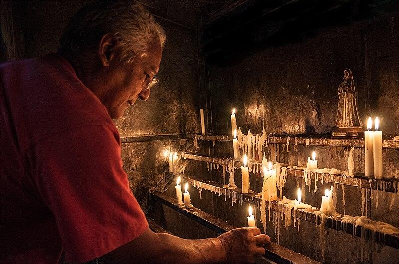 File:Religión en Isla Margarita, Valle del Espíritu Santo.jpg