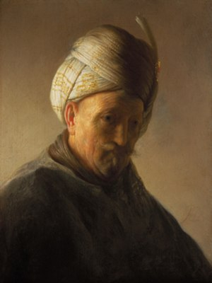 Rembrandt Research Project - Image: Rembrand oude man met tulband rrp
