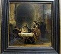 Rembrandt, cristo si rivela ai pellegrini di emmaus, 1648, 01.JPG