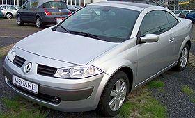Renault Mégane II Coupé-Cabriolet