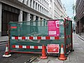 Replacing London's Victorian water mains, Eldon Street - geograph.org.uk - 1593658.jpg
