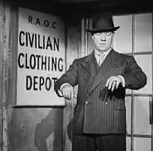 Demob suit - Image: Resettlement Advice Centres 1946 screen cap