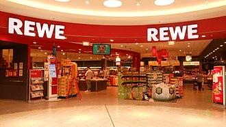 REWE Group - REWE grocery store in Dortmund, Germany