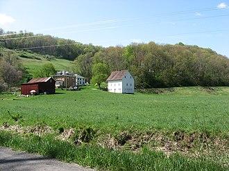 Jackson Township, Greene County, Pennsylvania - A farm in Jackson Township
