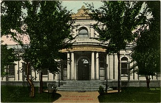 Yazoo City, Mississippi - Ricks Memorial Library, Yazoo City