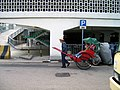 Rickshaw outside Central Star Ferry terminal.jpg