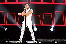 Ricky Martin in concerto a Sydney nel 2015.