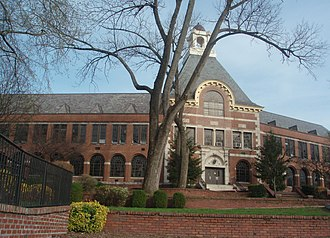 Ridgewood High School (New Jersey) - Ridgewood High School entrance