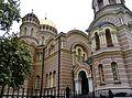 Riga Russisch-Orthodoxe Kathedrale Christi Geburt 4.JPG