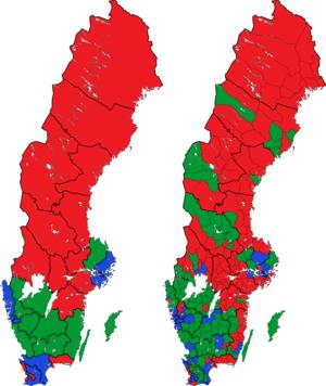 Rigsdagsvalget i Sverige 1979 i valgkredse og kommuner.png