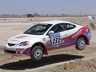 Sports Car Club of America - Image: Rim Of The World Rally, 2004, Super Special Stage 6