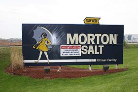 illustration de Morton Salt