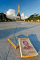 Rizal Monument with Jose Rizal's most famous works in the background.jpg