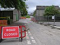Road closed, T and F Hospital - geograph.org.uk - 1318221.jpg