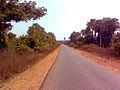 Road to Kukkunoor town from Burgampad in Khammam district.jpg