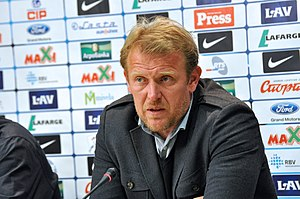 Azerbaijan national football team - Under Robert Prosinečki, Azerbaijan reached its highest position ever in FIFA World Rankings