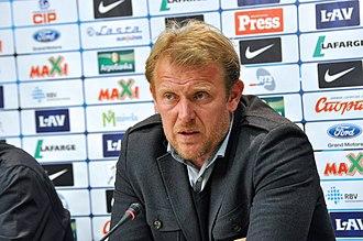 Azerbaijan national football team - Under Robert Prosinečki, Azerbaijan reached its highest position ever in FIFA World Rankings
