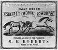 Roberts' Horse Powders LCCN2001701419.jpg