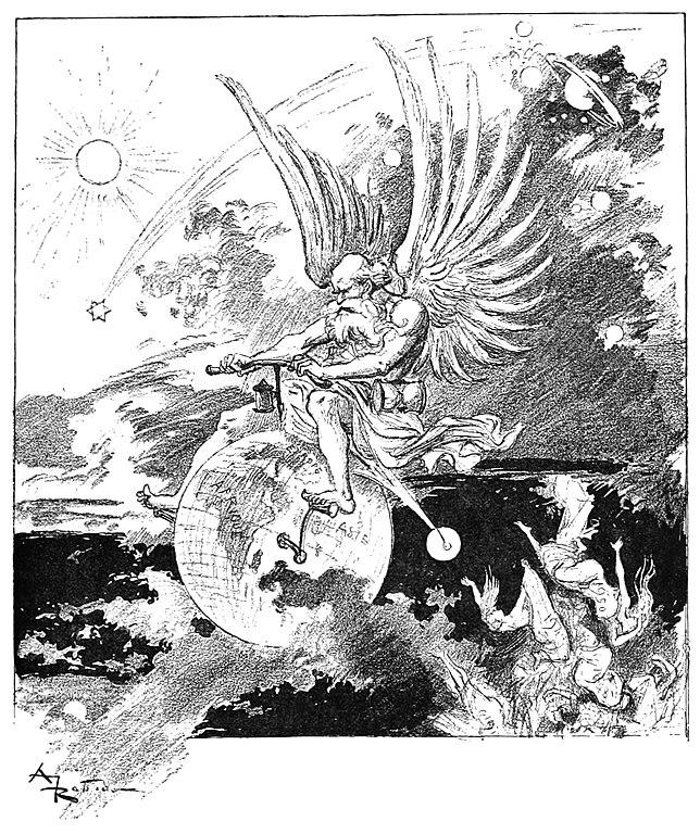 Albert ROBIDA - La vie électrique (1893) 644px-Robida_-_Le_Vingti%C3%A8me_si%C3%A8cle_-_la_vie_%C3%A9lectrique%2C_1893_%28page_13_crop%29