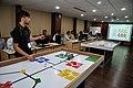 Robot Testing Session - Workshop on Organising Indian and World Robot Olympiad - NCSM - Kolkata 2016-03-07 2246.JPG