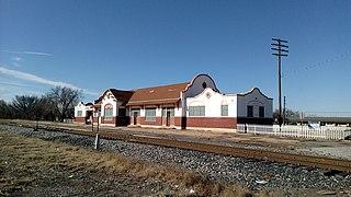 Rock Island Depot (Enid, Oklahoma) former train station in Enid, Garfield County, Oklahoma