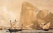 el estrecho de Gibraltar.