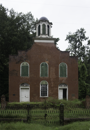 National Register of Historic Places listings in Jefferson County, Mississippi - Image: Rodney Presbyterian Church