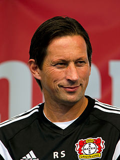 Roger Schmidt (football manager) German footballer and manager