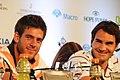 Roger Federer and Juan Martin del Potro (8366841055).jpg