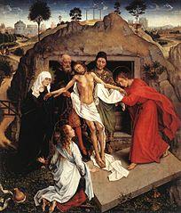 Lamentation sur le Christ mort et Mise au tombeau