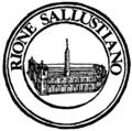 Rome rione XVII sallustiano logo.png