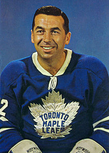 Description de l'image Ron Stewart Maple Leafs Ralston Purina card.JPG.