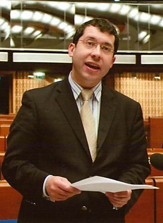 Rónán Mullen - Mullen at the Council of Europe in April 2010
