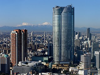 Roppongi Hills Shopping and office complex in Tokyo, Japan