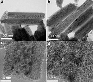 Halloysite - Image: Ru intercalated halloysite nanotubes 2