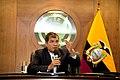 Rueda de Prensa del Presidente Rafael Correa (7418156420).jpg
