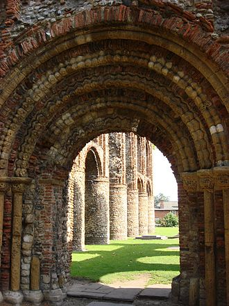 St. Botolph's Priory - The Pardon Door of the Priory Church