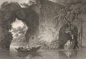 Ruins of Tungy Bridge (1825)