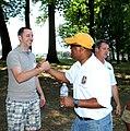 Rushern Baker 20120630 322 Exec Rushern Baker (yellow hat) (7507217104).jpg