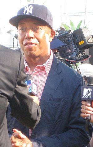 English: Russell Simmons at the 2008 MTV Video...