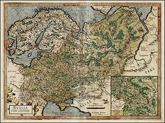 Russia Mercator 1595