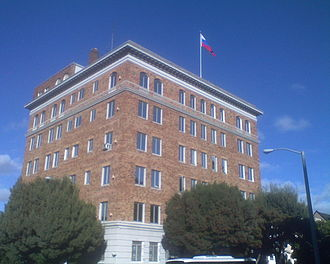 Pacific Heights, San Francisco - Image: Russian Consulate General in SF