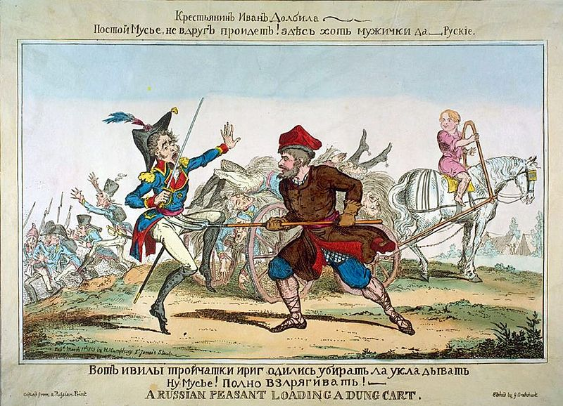 File:Russian peasant in 1812 British Caricature.jpg