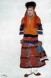Russian peasant woman by L. Bakst (1922) 2.jpg