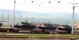 Transcaucasian Military District - Russian troops leaving Georgia in 2007