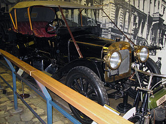 Russo-Balt - Russo-Balt in Polytechnical Museum (Moscow)