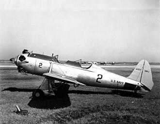 Ryan ST - A U.S. Navy Ryan NR-1 at NAS Jacksonville, 1942.