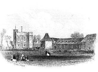 Rye House, Hertfordshire - Image: Rye House Plot