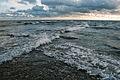 Sõrve sääre tipp ristuvate lainetega, Saaremaa.JPG