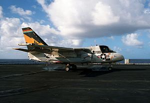 S-3A VS-37 landing on USS Independence (CV-62) 1990.JPEG
